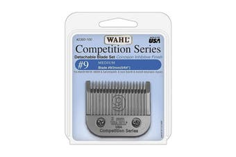 WAHL Competition Series Detachable Blade Set (#9 Medium 2mm) Pet Grooming