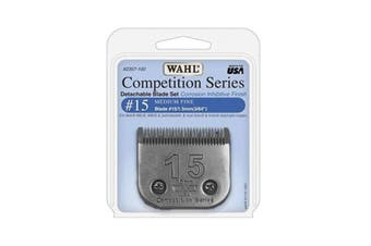 WAHL Competition Series Detachable Blade Set (#15 Medium Fine 1.5mm) Pet