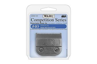 WAHL Competition Series Detachable Blade Set (#40 Surgical 0.6mm) Pet Grooming