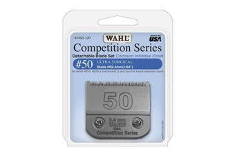 WAHL Competition Series Detachable Blade Set (#50 Ultra Surgical 0.4mm) Animal