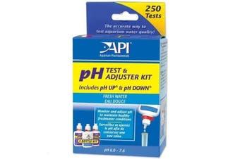 API Aquarium pH Test & Adjuster Kit - 250 Tests