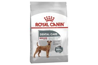 Royal Canin 3kg Medium 11-25kg Adult Dental Care Dog Food Dry Kibble