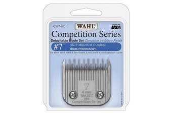 WAHL Competition Series Detachable Blade Set (#7 Skip Medium Coarse 4mm) Pet