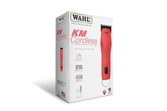 KM Cordless 2 Speed Pet Clipper (Pink - WAHL)