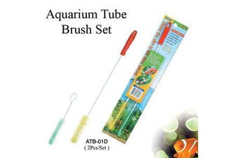 Aquarium Pipe Cleaner Brush set - 2 Pack