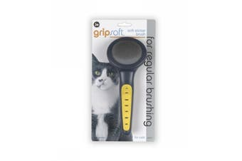 Slicker Brush for Cats - JW Gripsoft Pet Grooming Tool