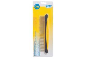 Rotating Pin Comfort Comb - Fine & Coarse (20cm) (JW GripSoft)