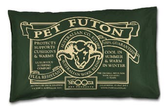 Snooza Original Green Futon Soft Dog Bed (Large)
