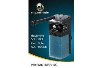 Internal Aquarium Filter 100 for Fish Tanks Up To 100L (Aquatopia)