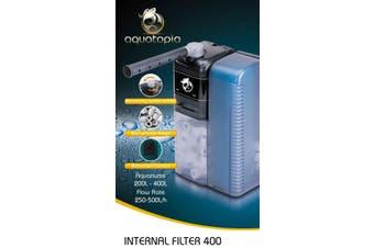 Internal Aquarium Filter 400 for Fish Tanks Up To 400L (Aquatopia)