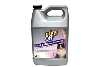 Urine-Off Cat & Kitten Urine Strain & Odour Remover - 3.78 Litres