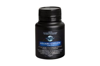 Aquari Cycline Tablets for Fish - 25 Tabs (Blue Planet)