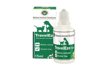 NAS TravelEze for Dogs & Cats - 15ml Pet Travel Anxiety & Calming Solution