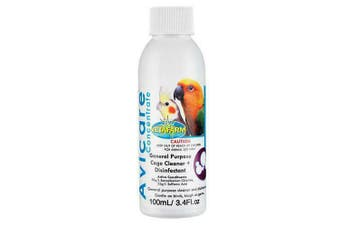 Vetafarm Avicare 100ml Bird Cage Cleaner & Disinfectant Concentrate