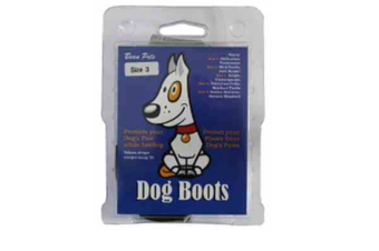 Dog Boots - Size 1 - Pack of 2 Boots (Beau Pet)