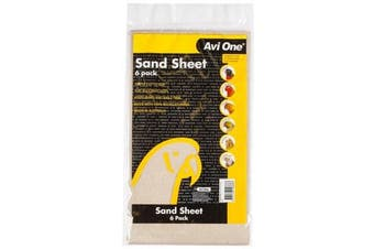 6 Pack of Bird Sand Sheets for Bird Cages (Avi One)