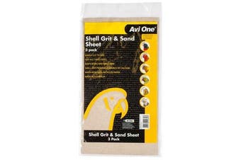 3 Pack of Bird Sand and Grit Sheets for Bird Cages (Avi One)