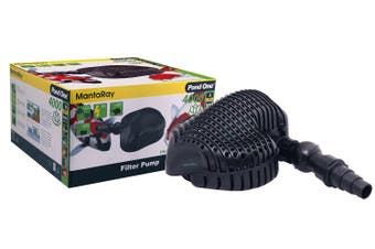 MantaRay 4000 Filter Pond Pump - 4000L/H (10M Cable) (Pond One)