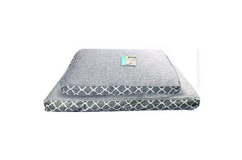 Pet One Medium Imperial Grey Merle Pet Bed Mattress for Dogs & cats (75x50x12cm)
