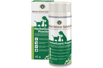 NAS HerbaGuard Powder for Dogs, Cats & Small Animals (65g) Pet Insect Powder