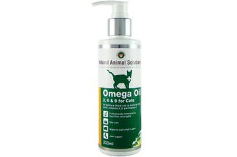 NAS Omega 3, 6 & 9 Oil for Cats (200ml) Natural Animal Solutions Omega for Pets