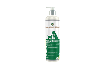NAS Herbal Pet Shampoo for Normal Skin Dogs (375ml) Natural Animal Solutions