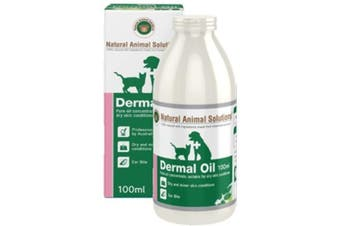 NAS Dermal Oil for Dogs, Cats & Horses (100ml) Natural Animal Solutions