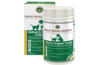 NAS Nature's Organic Calcium for Pets - 200g - Natural Animal Solutions Dog, Cats