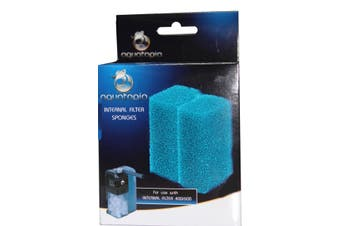 Sponges for Aquatopia Aquarium Internal Filter 400 & 600 (Pack of 2 Sponges)
