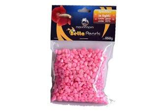 Pink Betta Pearls Aquarium Gravel (250g) Aquatopia