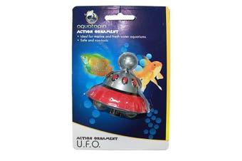 UFO Action Air Connect Fish Tank Aquarium Ornament (Aquatopia)