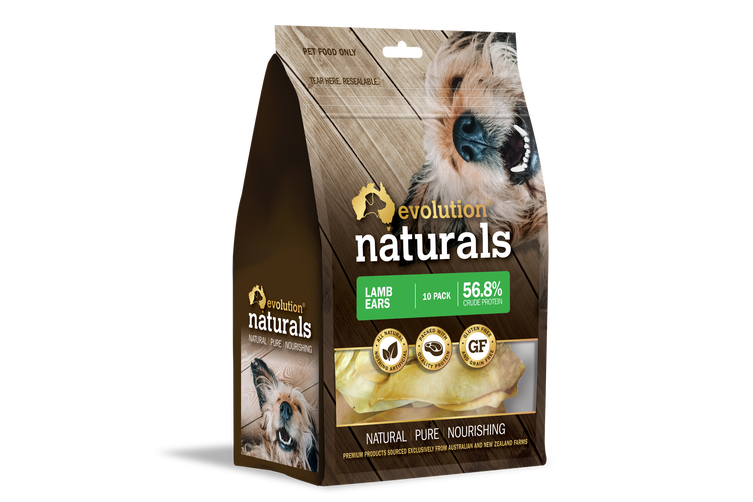 Lamb Ears 10 Pack Pack Dog & Puppy Treats by Evolution Naturals