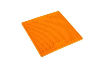 LickiMat Soother Pet Feeding Mat for Dogs & Cats (20cm x 20cm)