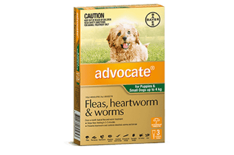 Bayer Advocate 0-4kg 3's (Green)