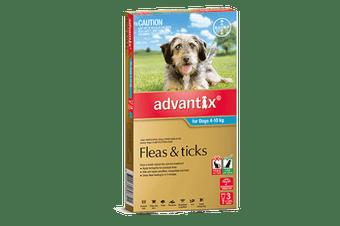Bayer Advantix 4-10kg 3's (Teal)
