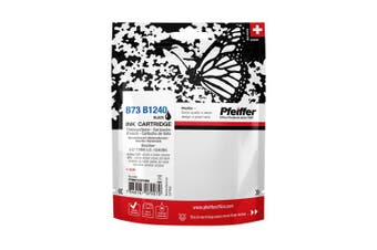 Pfeiffer Printer Cartridge, compatible with Brother LC-1240BK / LC-73BK Black (remanufactured), PFIB073BR