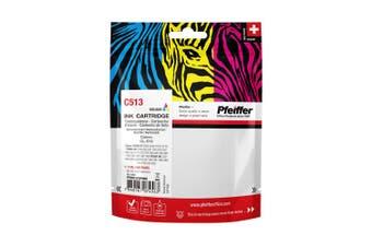 Pfeiffer Printer Cartridge, compatible with Canon CL-513 Colour (remanufactured), PFIC513TR