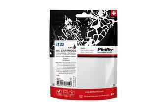 Pfeiffer Printer Cartridge, compatible with Epson 133 Black, PFIE133B