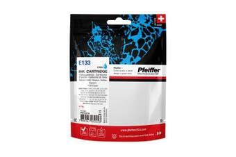 Pfeiffer Printer Cartridge, compatible with Epson 133 Cyan, PFIE133C