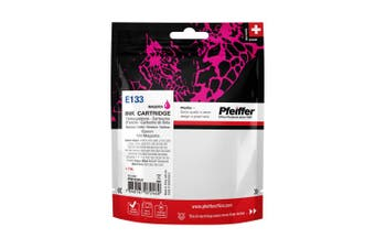 Pfeiffer Printer Cartridge, compatible with Epson 133 Magenta, PFIE133M