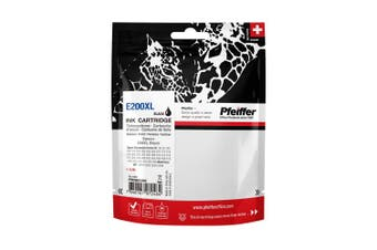 Pfeiffer Printer Cartridge, compatible with Epson 200XL Black, PFIE200XB