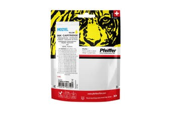 Pfeiffer Printer Cartridge, compatible with HP 02XL Yellow (remanufactured), PFIH002XYR
