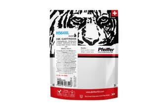 Pfeiffer Printer Cartridge, compatible with HP 564XL Black, PFIH564XB