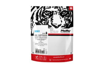 Pfeiffer Printer Cartridge, compatible with HP 901 Black (remanufactured), PFIH901BR