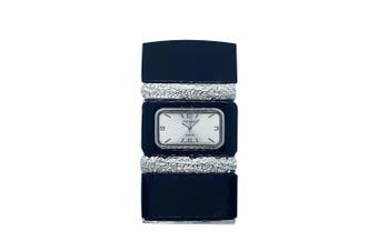 Black Adjustable Designer Bracelet Lady Watch w/Gift Box