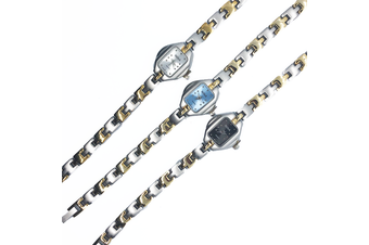 Gorgeous Lady watch-Three dial colours-Silver, Black, Blue