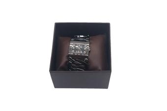Black Bracelet Lady Watch with Gift Box