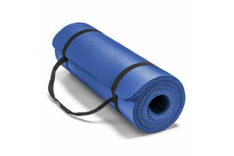 15MM Thick Yoga Mat Non-slip Exercise Fitness Gymnastic Mat Lose Weight Pad-Blue