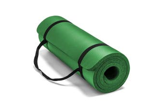 15MM Thick Yoga Mat Non-slip Exercise Fitness Gymnastic Mat Lose Weight Pad-Green