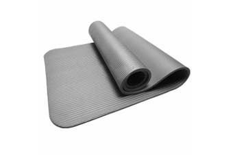 15MM Thick Yoga Mat Non-slip Exercise Fitness Gymnastic Mat Lose Weight Pad-Grey